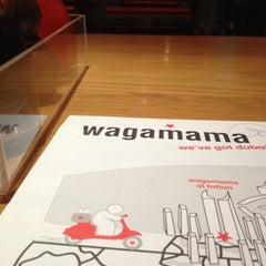 Photo taken at Wagamama by Abdulrahman A. on 10/31/2012