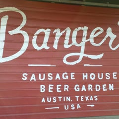 Photo taken at Banger's Sausage House & Beer Garden by Landon T. on 3/23/2013