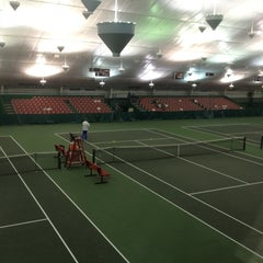 Photo taken at Billingsley Tennis Center by Jordan O. on 3/1/2013