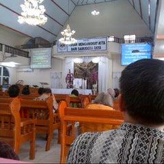 Photo taken at GMIM Getsemani Sario Kota Baru by Denny Y. on 4/19/2015