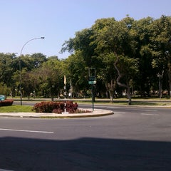 Photo taken at Parque Mariscal Castilla by Abi L. on 4/11/2013