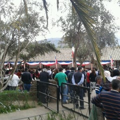 Photo taken at Plaza de Armas Alhué by Juan M. on 9/18/2012