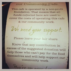 Photo taken at Panera Cares - A Community Cafe by Pat W. on 11/8/2013