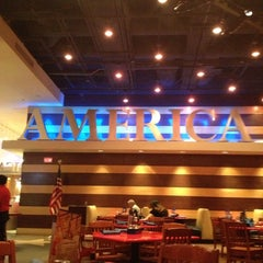 Photo taken at America by Lauren R. on 10/9/2012