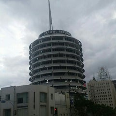 Photo taken at Capitol Records by Tommy B. on 10/4/2015