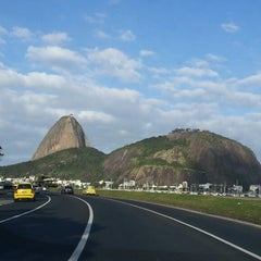 Photo taken at Enseada de Botafogo by Felipe R. on 7/16/2013