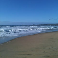 Photo taken at Gazos Creek Beach by John D. on 11/17/2012