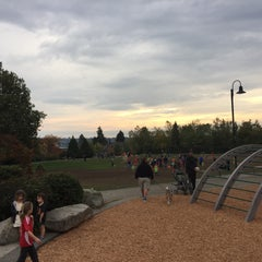 Photo taken at Wallingford Playfield by Nathan M. on 10/17/2015