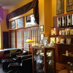 Photo taken at Teahouse Kuan Yin by Nathan M. on 3/10/2013
