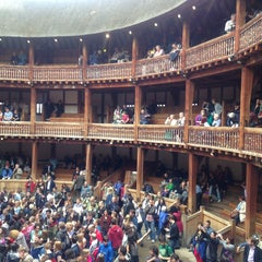 Photo taken at Shakespeare's Globe Theatre by f3ralbl00m on 6/28/2013