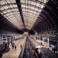 Photo taken at London Paddington Railway Station (PAD) by Valentin C. on 4/18/2013