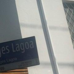 Photo taken at Rua Borges Lagoa by Roberto G. on 8/19/2013