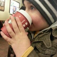Photo taken at Starbucks by Sarah B. on 11/24/2012