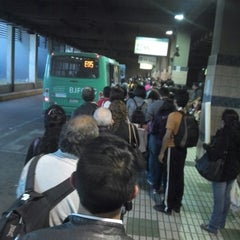 Photo taken at Estación Intermodal Bellavista de la Florida by Sergio G. on 4/12/2013