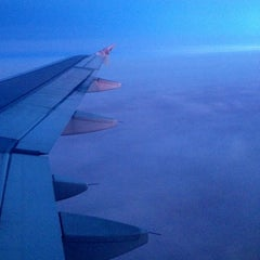 Photo taken at Frontier Airlines by Mary O. on 12/13/2012