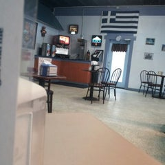 Photo taken at Fresh Greece Pizza, Salads & Calzones by Michael G. on 2/9/2013