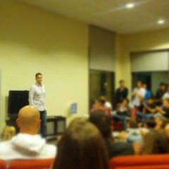 Photo taken at GSB MBA Lounge by Greg B. on 10/25/2012