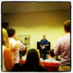 Photo taken at GSB MBA Lounge by Greg B. on 10/4/2012