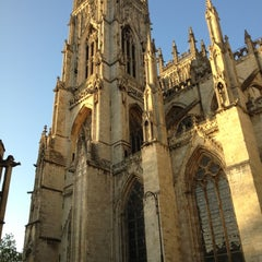 Photo taken at York Minster by Philip D. on 10/27/2012