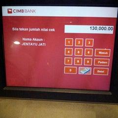 Photo taken at CIMB Bank by aRiL® on 1/26/2013