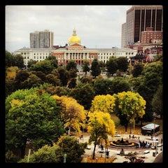 Photo taken at Boston Common by Alex A. on 10/12/2013
