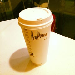 Photo taken at Starbucks by Anthony A. on 10/17/2012