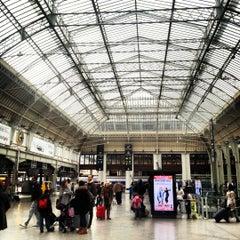 Photo taken at Gare SNCF de Paris Lyon by Isabelle S. on 11/1/2012
