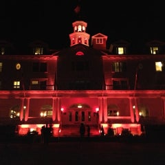 Photo taken at Stanley Hotel by Megan P. on 10/28/2012
