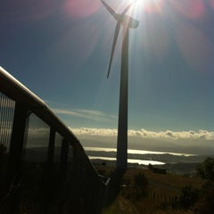 Photo taken at Wind Turbine by Andrew R. on 1/10/2013