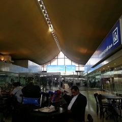 Photo taken at King Abdulaziz International Airport (JED) مطار الملك عبدالعزيز الدولي by Hussain B. on 4/23/2013