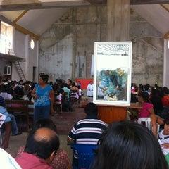 Photo taken at Iglesia Virgen Del Carmen by Cruz G. on 10/13/2012
