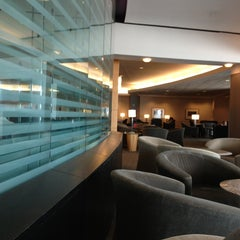 Photo taken at Delta Sky Club by Ryan P. on 6/12/2013