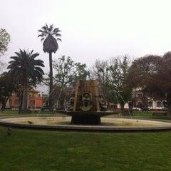 Photo taken at Plaza de Armas by Ivonne B. on 10/7/2012