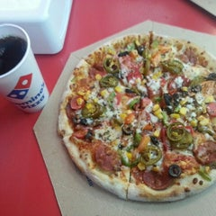 Photo taken at Domino's Pizza by Tuğra D. on 1/24/2016