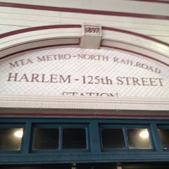 Photo taken at Metro North - Harlem 125th Station by Cari on 6/22/2013