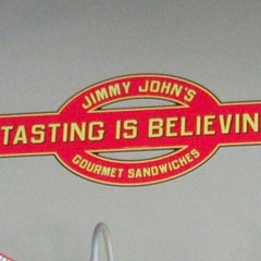 Photo taken at Jimmy John's by Curt R. on 10/21/2012