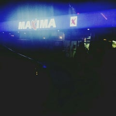 Photo taken at Maxima by Lauris S. on 2/15/2016