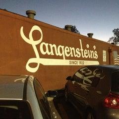 Photo taken at Langenstein's (Uptown) by Melissa F. on 11/9/2012