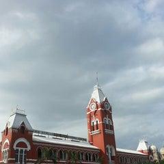 Photo taken at Chennai Central Sub Urban Station by Kalesh S. on 7/3/2013