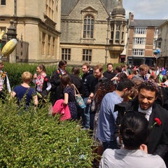 Photo taken at Oxford University Examinations Schools by Hervé C. on 6/29/2013