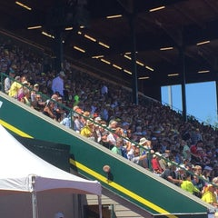 Photo taken at Hayward Field by Bill S. on 6/13/2015
