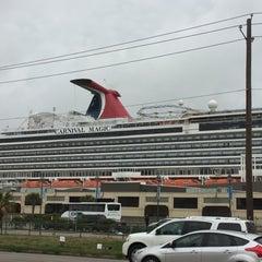 Photo taken at Galveston Cruise Terminal #2 by Janie A. on 2/21/2016