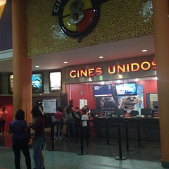 Photo taken at Cines Unidos by Efrain L. on 2/1/2015