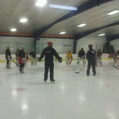 Photo taken at Raleigh Center Ice by Lauren R. on 9/15/2012