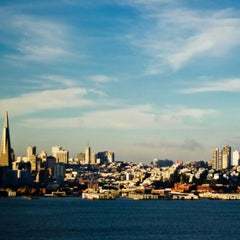 Photo taken at Treasure Island by Mauro on 12/25/2012