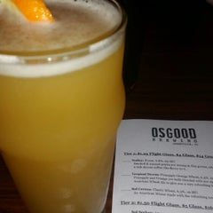 Photo taken at Osgood Brewing by Jay T. on 10/10/2015