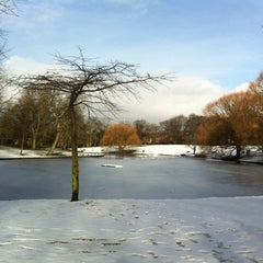 Photo taken at Sefton Park by Nadal C. on 1/26/2013
