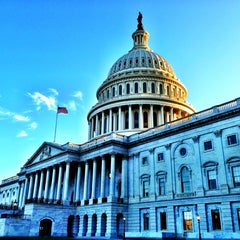 Photo taken at United States Capitol Building by Zane on 7/4/2013