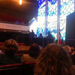 Photo taken at Sinagoga Circulo Israelita De Santiago by Isaías S. on 10/17/2013