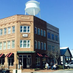 Photo taken at Historic Downtown Senoia by Stephen G. on 3/7/2015